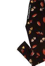 Lularoe LEGGINGS Black Sushi Print Food One Size Os NWT NEW