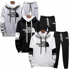 2PCS Mens Set Hoodies Joggers Suit Jogging Track Pants Sportswear Gym Tracksuits