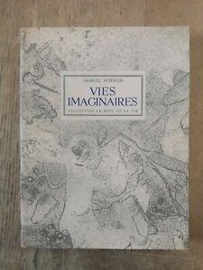 VIES IMAGINAIRES - MARCEL SCHWOB - 1946 - VELIN - Illustré F. LABISSE - TBE