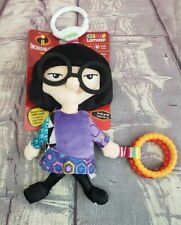 Lamaze Infant Baby Sensory Rattle Toy Clip and Go Edna Mode Incredibles 2