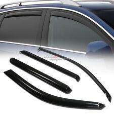 FOR 02-06 TRAILBLAZER/ENVOY XL SMOKE WINDOW VISOR SHADE/VENT WIND/RAIN DEFLECTOR
