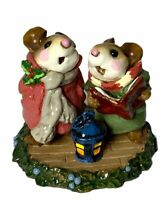 "Wee Forest Folk: ""Silent Night"" Rose & Sage Coats, Collectibles, 1991, M-173"