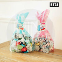 BTS BT21 Official Authentic Goods Gift Bag Medium 2Type SET By Kumhong + Track#