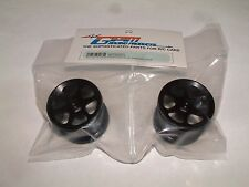 LOSI MINI-T GPM FRONT SINK SURFACE 6 POLE BLACK ALUMINUM RIMS SMT0603F/L