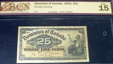1900 25 Cents Dominion Of Canada
