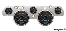 New Vintage USA 1969-70 Ford Mustang Direct Fit White Gauge Package,Shelby GT350