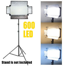 600 LED Professional Photography Studio Video Light Panel Camera Photo Lighting