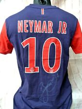 T shirt PSG Paris Saint Germain sg signed NEYMAR foot ultras signé
