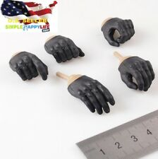 1/6 scale men gloves Gun hands replacement C for Phicen Ganghood hot toys ❶USA❶