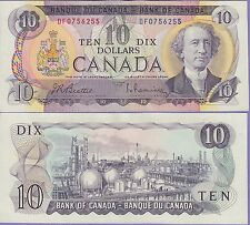 Canada 10 Dollars Banknote 1971 Choice About Uncirculated Condition Cat#88-6255