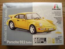 Italeri 1:24 Scale Porsche 911 Turbo Model Kit - New - Item No. 3675