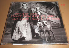 PET SHOP BOYS single I DONT KNOW WHAT YOU WANT BUT CANT GIVE IT ANY MORE 3 tr CD