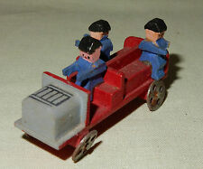 Miniatur Feuerwehr Holzspielzeug Seiffen Olbernhau Erzgebirge alt 1930-50