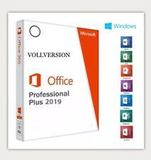 Office 2019 Professional Plus | Key 32/64 Bit | Vollversion | DE | dauerhaft