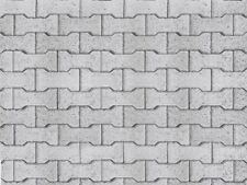 Vollmer kit 46054 NEW HO CONCRETE STONE EMBOSSED CARD SHEET 250X125MM