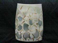 Studio Art Pottery Hand Painted Vase, Signed