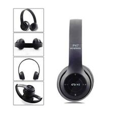 Wireless Bluetooth Headphones Stereo Headset Noise Canceling Over Ear with Mic!