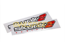 Skunk2 Classic Logo 12 Inch Decal Pack of 2 837-99-1012 Authentic JDM Drift Race