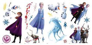 Roommates Disney Frozen 2 Elsa Anna Sticker Wall Decoration Wandkleber Sticker