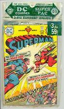 DC Comics Super Pac C-5 June 1974 Superman 276 Sinister House 18 HOS 120 VF/NM