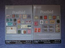 2 Stanley Gibbons  Postbid Stamp Catalogues