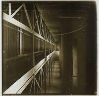 Francia Parigi Prison Grande Rucola c1900 Foto Stereo Placca Da Lente VR11x2