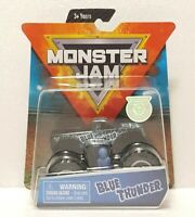 2019 Spin Master Monster Jam Blue Thunder Truck 1/64 Scale Overcast Series Toy