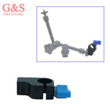 "1/4"" Thread 15mm Rod Clamp Holder for DSLR Rig Rail Support Magic Arm Monitor"