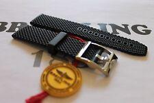 100% Genuine New Breitling Nero Ocean Classic Tang fibbia cinturino in gomma 22-20 mm