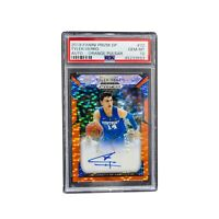 2019 Panini Prizm DP Tyler Herro AUTO Orange Pulsar PSA 10 LE 04/10  RC HOT!!!!!