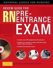 RN Pre-Entrance Exam by National League for Nursing Staff (2008, Paperback, Revi