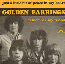 "GOLDEN EARRINGS ‎– Just A Little Bit Of Peace In My Heart (1966 7"" DUTCH PS)"