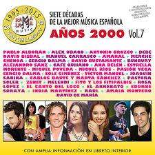 7 DECADAS DE LA MEJOR MUSICA ESPAÑOLA-VOL.7 AÑOS 2000-2CD