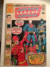 Justice League of America #89/May 1971/Bronze Age DC Comic/VF