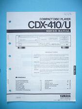 Service Manual für Yamaha CDX-410  ,ORIGINAL