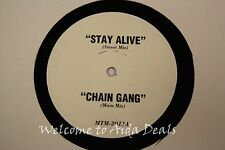 Various: Stay alive, Chain gang, I Still Believe (VG) LP 12""