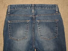 GAP Size 6 Ankle Bootcut Stretch Dark Blue Womens Jeans