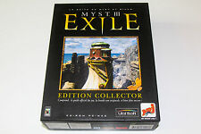 MYST III : EXILE - EDITION COLLECTOR - PC - COMPLET EN BOITE - COMPLET BOXED