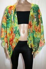 Cruise Club Floral Kimono Shawl Size L / XL BNWT #SD17