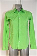 bonito camisa verde slim fit mujer RALPH LAUREN talla 36/38 (2) EXCELENTE ESTADO