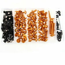 Universal Motorcycle Fairing Bolts Kit Body Fastener Clips Screws Sportbikes