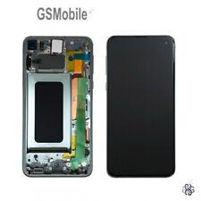 Display Pantalla LCD Touch Tactil Frame Green Samsung Galaxy S10e G970F ORIGINAL