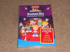FISHER PRICE - LITTLE PEOPLE GREATEST HITS MUSIC DVD CD BOXSET * NEW / SEALED