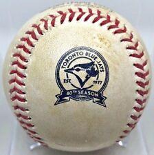 JOSE ABREU 2B CAREER HIT #368 GAME-USED BLUEJAY LOGO BASEBALL WHITE SOX MLB 2016