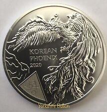1 oz Silver 2020 Komsco Korean Phoenix