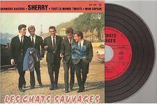 LES CHATS SAUVAGES sherry CD EP SINGLE ré-édition du 45t/ep