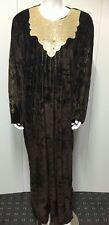 WinterVelvet Kaftan Maxi Dress Moroccan Abaya . Arabian Farasha.one size 8-24 UK