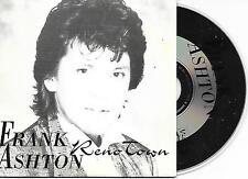 FRANK ASHTON - Reno Town CD SINGLE 1TR CARDSLEEVE 1996 BELGIUM