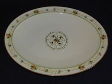 Noritake Japan Normandy Oval Meat Platter 13 3/4""