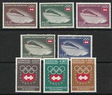 STAMPS-PARAGUAY. 1962. Innsbruck Winter Olympics Set. Michel: 1249/56. MNH.